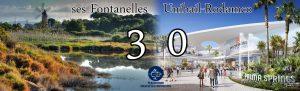 Ses Fontanelles: 3; Unibail-Rodamco: 0
